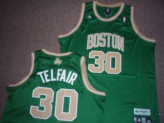 Adidas NBA Boston Celtics Sebastian Telfair St Patricks Day Swingman