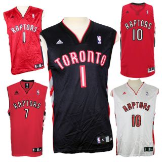 NBA Toronto Raptors Adidas Replica Jerseys Jack DeRozan Bargnani Sizes