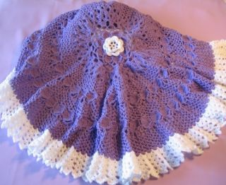 Five 5 of My Favorite Circular Baby Afghan Crochet Patterns by Rebecca