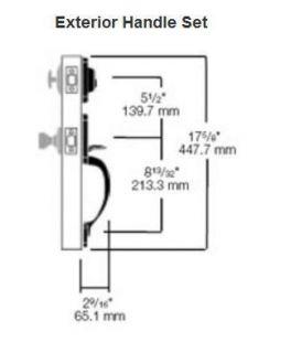 Kwikset Front Door Entry Single Cylinder Deadbolt Lock Satin Nickel