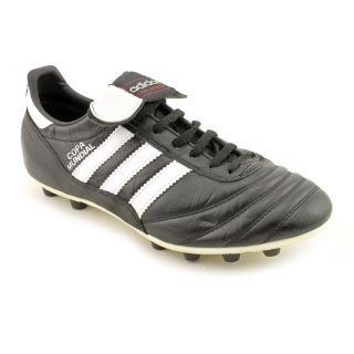 Used Adidas Copa Mundial Mens Size 7 Black Leather Soccer Cleats Shoes