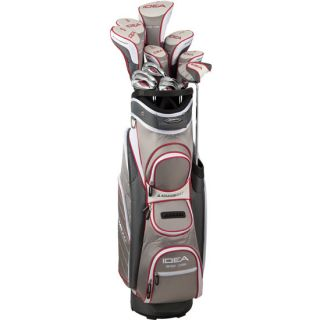 NEW Adams Golf A12OS Sterling Ladies Complete Set w/ Cart Bag