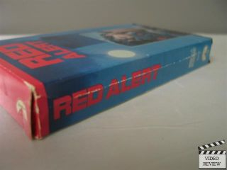 Red Alert VHS William Devane, Michael Brandon, Adrienne Barbeau