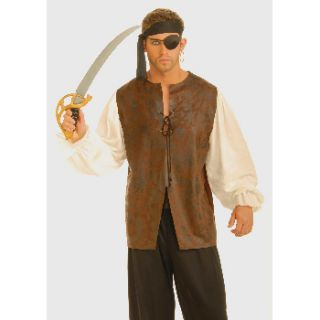 Adult Buccaneer Pirate Shirt Halloween Costume Accessory Size Standard