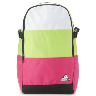 BN Adidas Club Backpack Backbag Laptop Sleeve Black Pink Green White