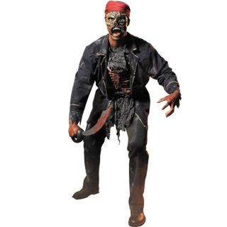 Gravelords Lord High Seas Adult Pirate Halloween Costume 42 46 New