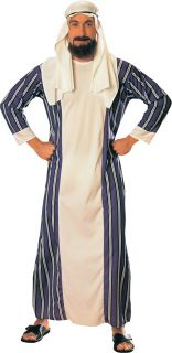 Adults Sheik Arab Arabian Ali Baba Fancy Dress Costume