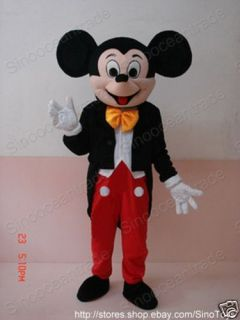 Mickey Mouse Adult Size Cartoon Mascot Costume Suit