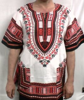 African Men Clothing Dashiki Blouse One Size Fit NotCome L XL1X 2X 3X