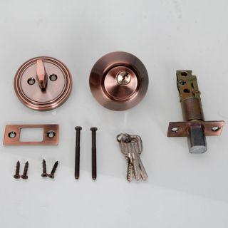stainless steel Single Cylinder Door Locks Deadbolt Lock With 3 Keys