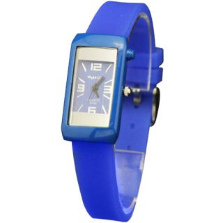 Excellent Small Styles Candy Color Silicone Ladies Womens Wrist Watch