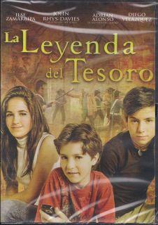 La Leyenda Del Tesoro DVD New Adrian Alonso Diego Velazquez Brand New