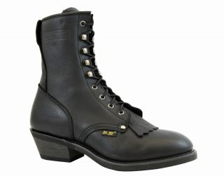 Hypard AdTec 1175 Mens Western Packer Boot Lace Up Cowboy Style