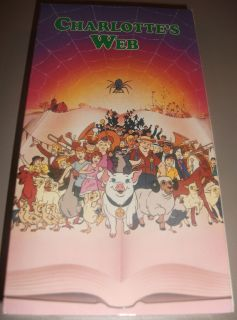 Charlottes Web VHS Video Hanna Barbera 1972 Paramount Pictures 1993