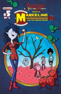 ADVENTURE TIME MARCELINE SCREAM QUEENS #5 KABOOM Comics COVER A