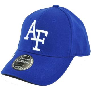 AIR FORCE FALCONS PREMIUM WOOL ONE FIT CAP HAT BY TOP OF THE WORLD SZ