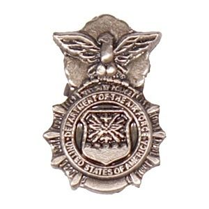 Police Pin Air Force Security Force Police Hat or Lapel Pin 14297
