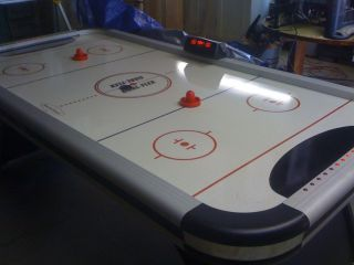 Air Hockey Table DMI Sports Full Size Table w/ Goal Flex Technology