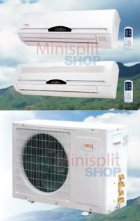 Split 2 x 30000 13 SEER A C Air Conditioner Heat Pump Ymgi Dual