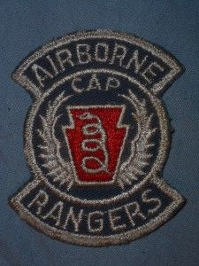 Patch Pennsylvania Cap Airborne Rangers Medical EVAC Cutedge Postwar