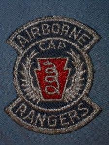 Patch Pennsylvania Cap Airborne Rangers Medical EVAC Cutedge Postwar