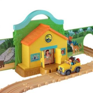 New Take Along Diego Adventure Track Set w Diecast