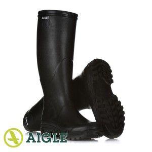 Aigle Parcours Lady Womens Wellington Boots Noir