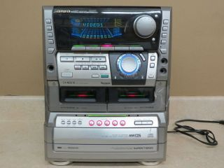Aiwa CX NDS15U Digital Audio System Karaoke Stereo Receiver For Repair