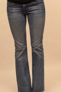 AG Adriano Goldschmied The Club Blue Stretch Maternity Denim Jeans 28