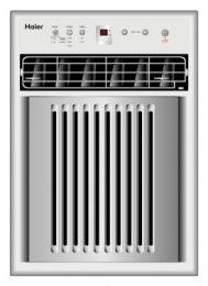 HWVR10XCK 10,000 BTU Casement / Slider Window Air Conditioner 115 volt