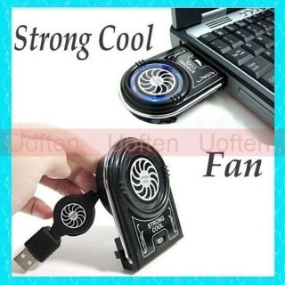 USB Air Cooling Fan Pad Idea Cool Notebook Laptop Tabelt Cooler