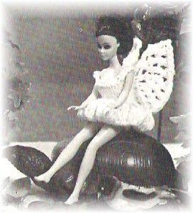 RARE  Virginia Lakins Doll Knit & Crochet Pattern Book #14  Peter Pan