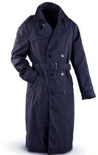 USAF Air Force Mens Dress Uniform Blue Trench Overcoats