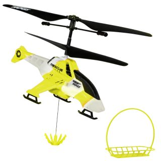 Air Hogs R C Fly Crane Yellow Helicopter Brand New Remote Control Toy