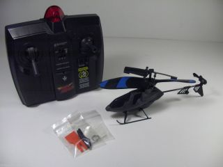 Used Air Hogs RC Micro Havoc Indoor Heli Black Mini IR Helicopter CH C