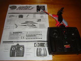Air Hogs R C Havoc Heli Red w Controller Manual