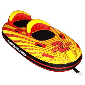 Airhead Wake Surf 2 Towable Inflatable Water Tube New