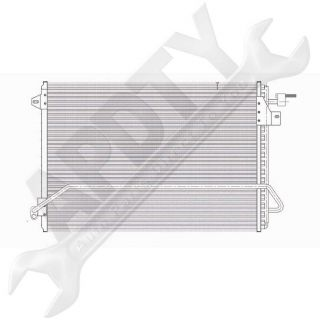 05 08 Ford Mustang AC Air Conditioning Condenser