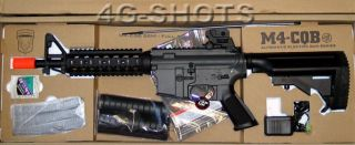 400 FPS JG M4 CQB RIS Airsoft AEG Rifle Quad Rail Jing Gong New