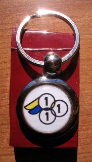 3RENSHO Key Chain 3 Rensho Bike Frame Logo Keychain 3RENSHO Key Chain