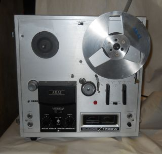 Akai 1720W Reel to Reel Tape Recorder 1970s