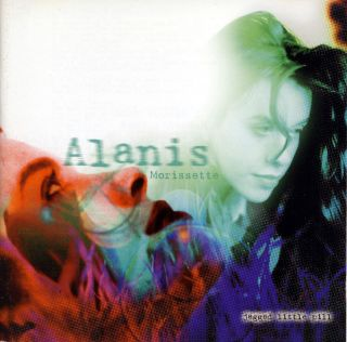 Alanis Morissette Jagged Little Pill CD Flea Dave Navarro Glen Ballard