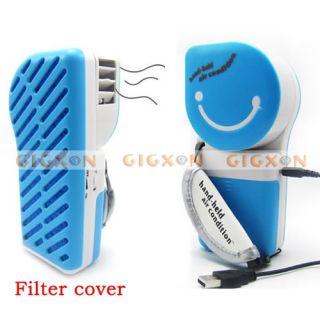 Portable USB Cooler Handheld Mini Air Conditioner