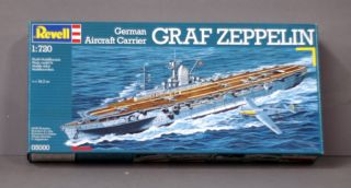 Model Kit Graf Zeppelin German Aircraft Carrier 1 720 Scale