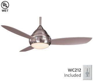 Minka Aire 52 Concept I F577 bnw Nickel Outdoor Fan