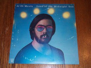 Al Di Meola Land of The Midnight Sun LP Music Vinyl Record Album B1 PC