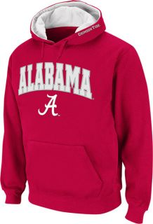 Alabama Crimson Tide Crimson Twill Tailgate Hooded Sweatshirt