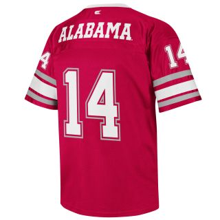 Alabama Crimson Tide Youth Stadium Football Jersey Crimson COJF4500