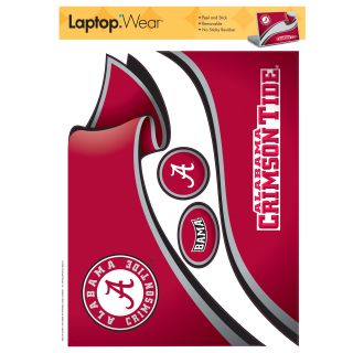 alabama crimson tide laptop cover includes 1 laptop cover vinyl 9 5 h