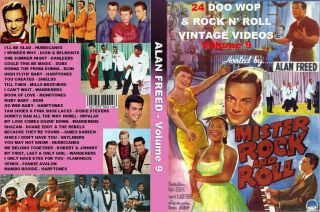 Alan Freed Rock N Party 24 Doo Wop Videos Vol 9 DVD